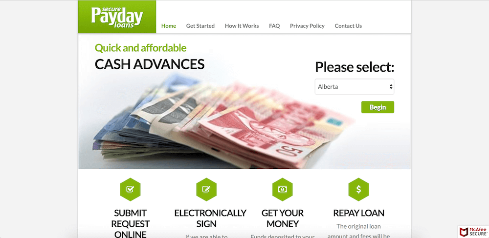 Secure Payday Loans